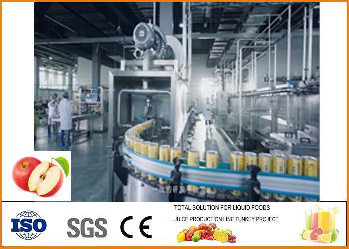 Apple Pear Beverage Processing Plant CE / ISO9001 Certification